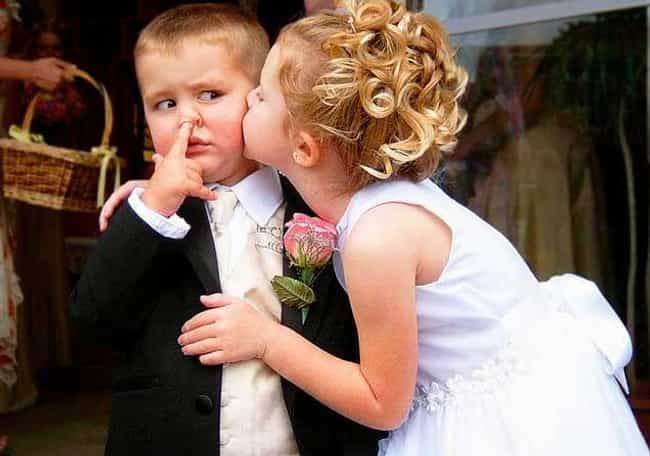 Stage Five Clinger is listed (or ranked) 3 on the list These Photos of Kids at Weddings Are Everything