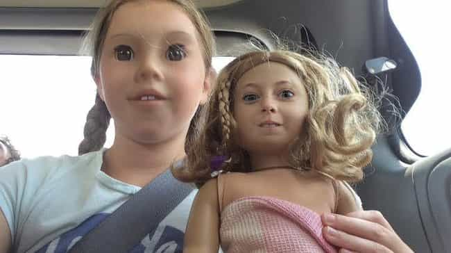Isn't She a Doll is listed (or ranked) 2 on the list 24 Downright Terrifying Doll Face Swaps