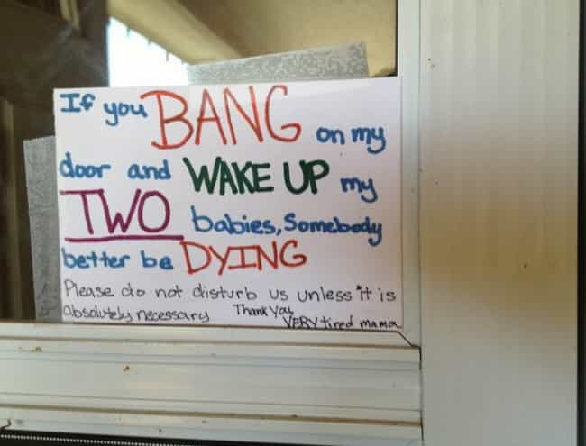 Kiss, Kiss, Bang, Bang is listed (or ranked) 3 on the list 23 Hilarious Notes from Moms and Dads