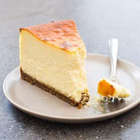 New York Cheesecake is listed (or ranked) 2 on the list The Best Kinds of Cheesecake