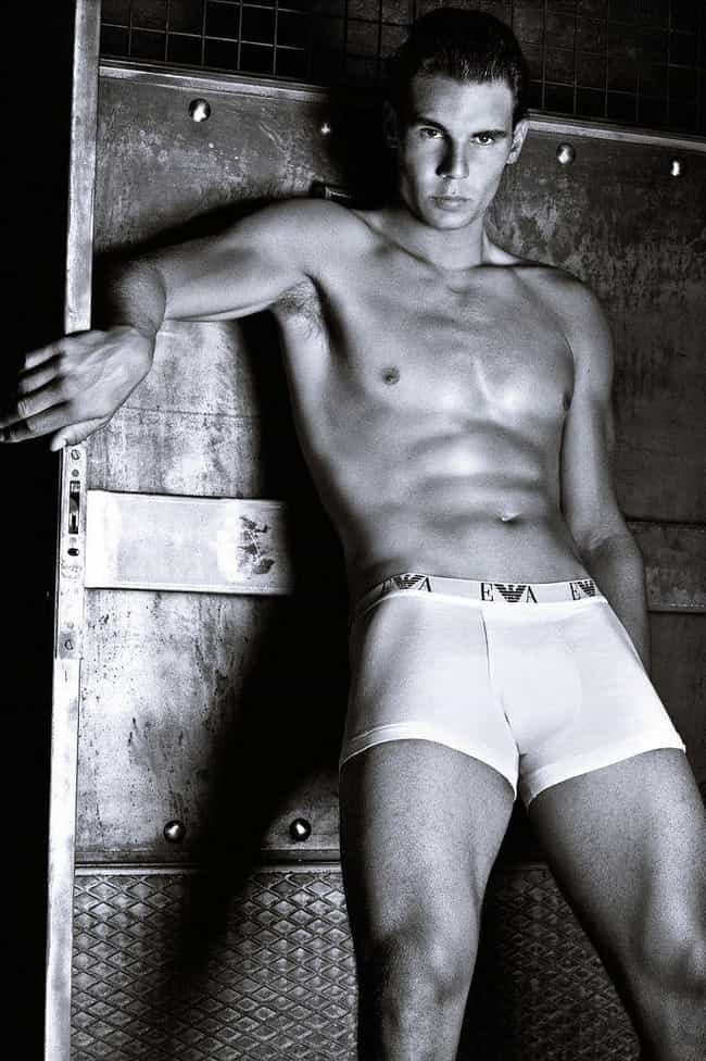 Nadal Loves Showing Off His Bu... is listed (or ranked) 4 on the list Everything You've Ever Wondered About Rafael Nadal's Sex Life