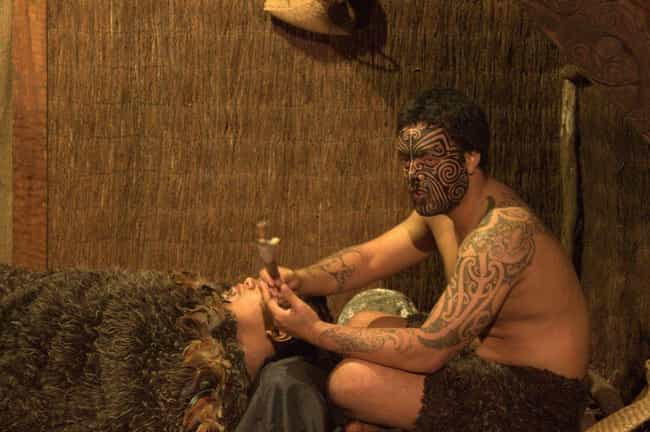 The Maori Used Caterpill... is listed (or ranked) 2 on the list Crazy Interesting Tattoo Practices from Indigenous Cultures Around the World