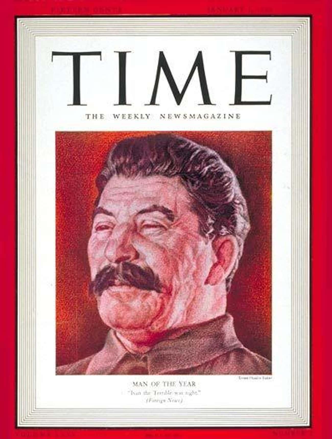 Joseph Stalin (Twice)