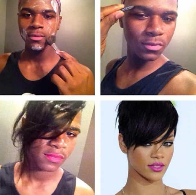 Amazing Male Makeup Transformations