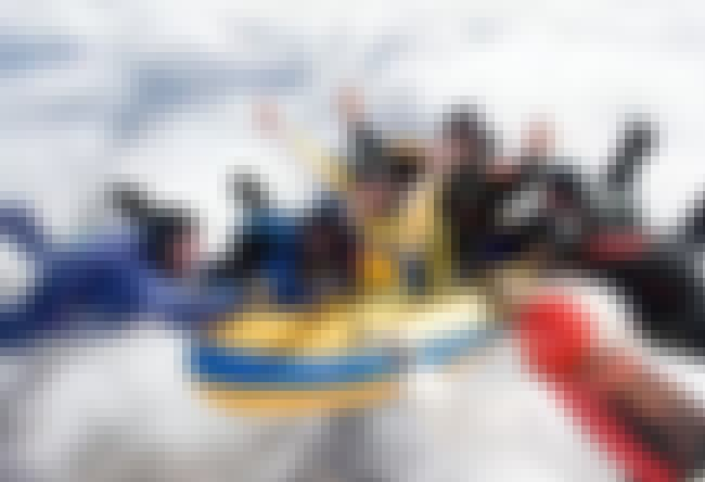 White Cloud Rafting is listed (or ranked) 1 on the list The 16 Funniest Photos in Skydiving History