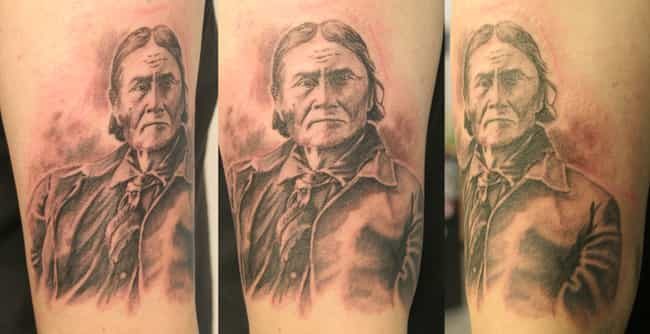 Keep It Old School Badass With... is listed (or ranked) 4 on the list People With Tattoos Of Historical People & Events