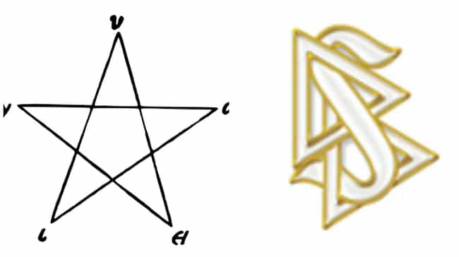 They Both Have Cool Logos is listed (or ranked) 4 on the list 12 Surprising Ways Scientology Is Kind of Like the Church of Satan