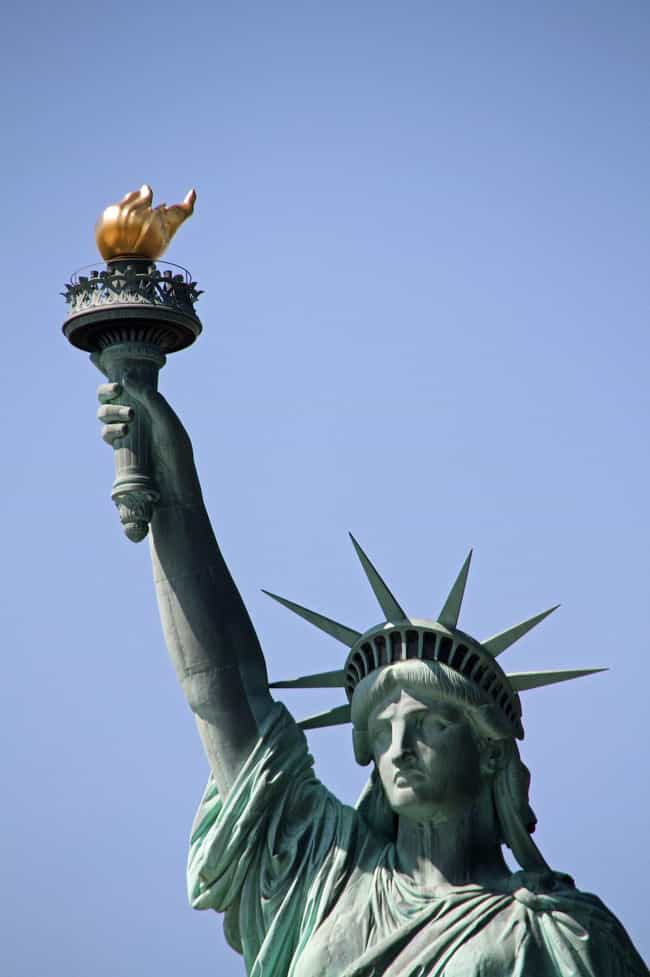 The Torch: A Light That ... is listed (or ranked) 1 on the list All of the Symbols on the Statue of Liberty, Explained