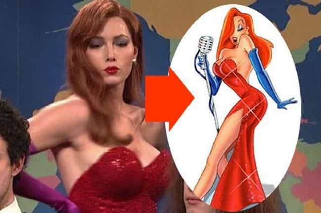 22 Women Who Are Basically Jessica Rabbit in Real Life ...
