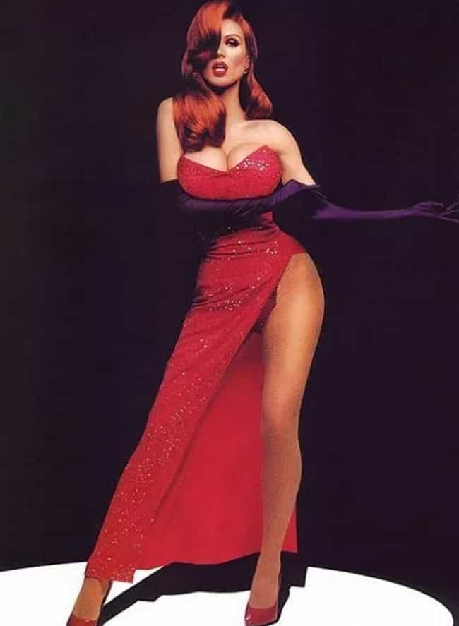 Heidi Klum as Jessica Rabbit is listed (or ranked) 2 on the list Women Who Are Basically Jessica Rabbit in Real Life
