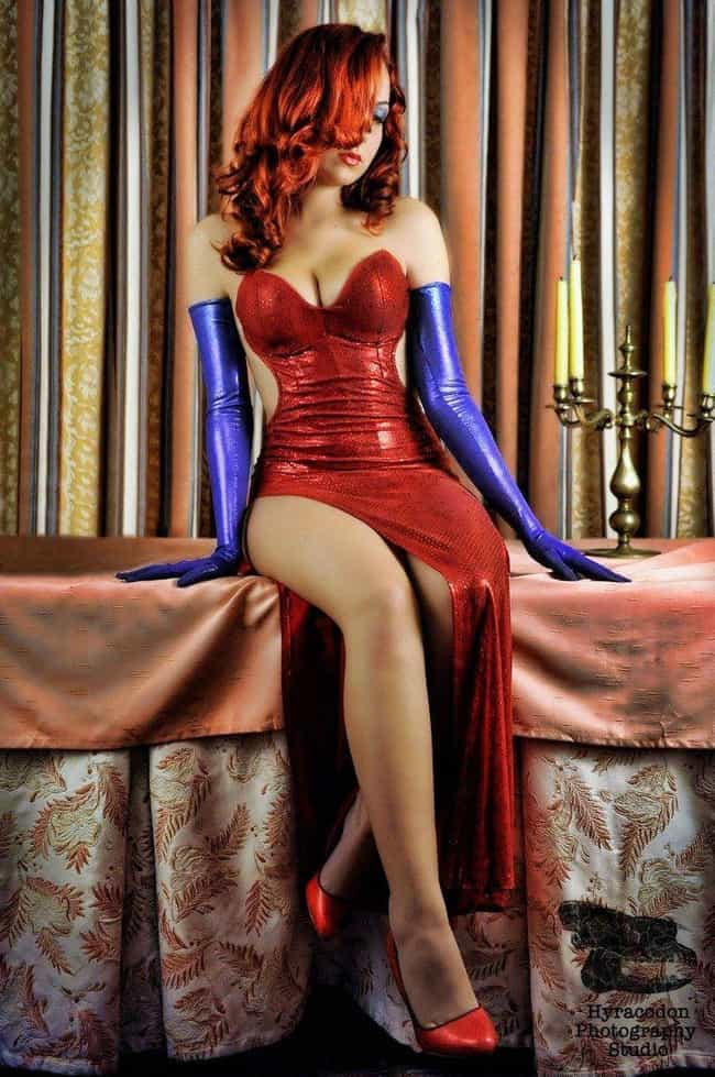 Red Letter Day is listed (or ranked) 3 on the list Women Who Are Basically Jessica Rabbit in Real Life