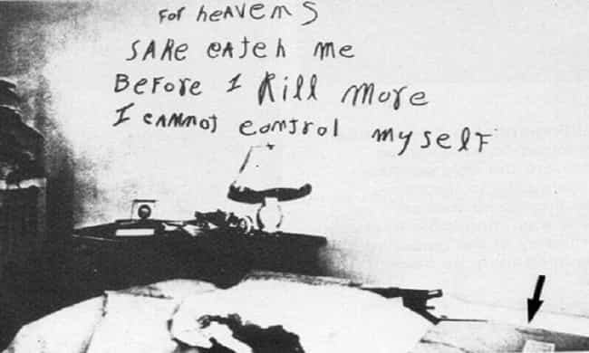 The Lipstick Killer Left A Not... is listed (or ranked) 5 on the list 12 Disturbing Ransom Notes with Strange and Tragic Consequences