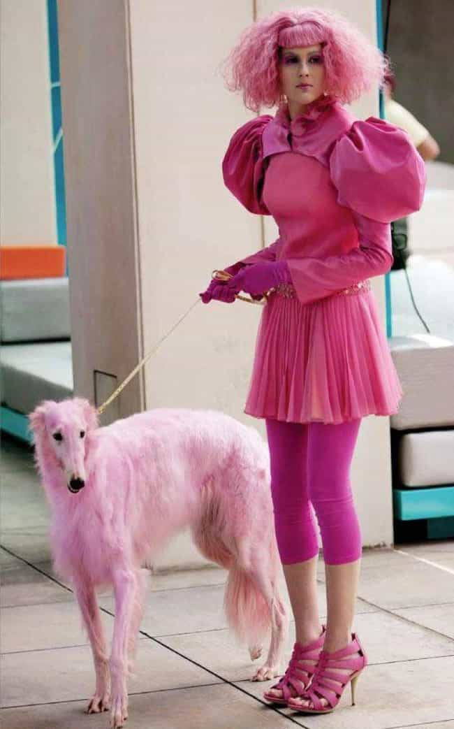 Wag the Dog is listed (or ranked) 4 on the list People Who Are Way Too Obsessed With the Color Pink