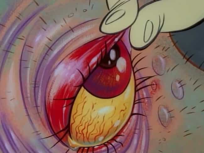 Feast Your Eye is listed (or ranked) 8 on the list The Most Gruesome Close-Ups On 'Ren & Stimpy'