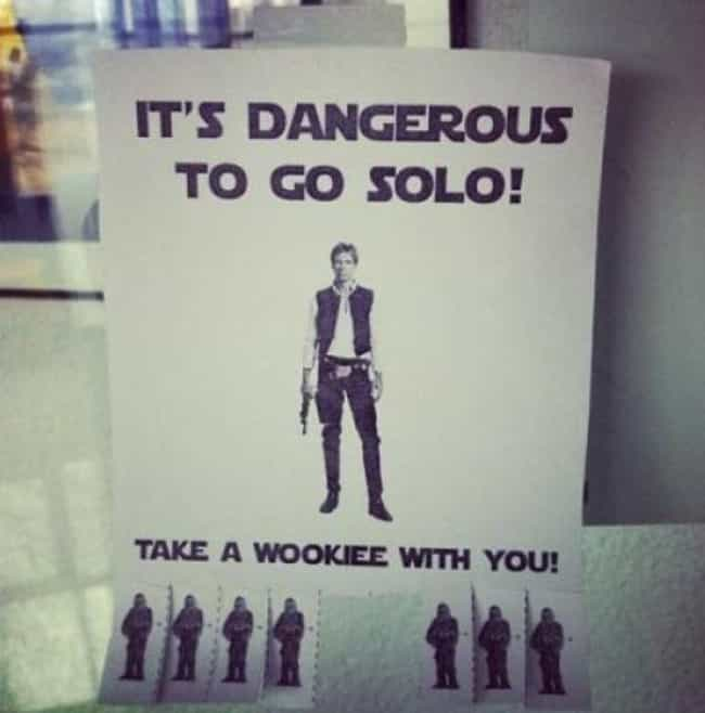 It's a Little Chewy is listed (or ranked) 3 on the list 22 Hilarious Fliers Found on College Campuses