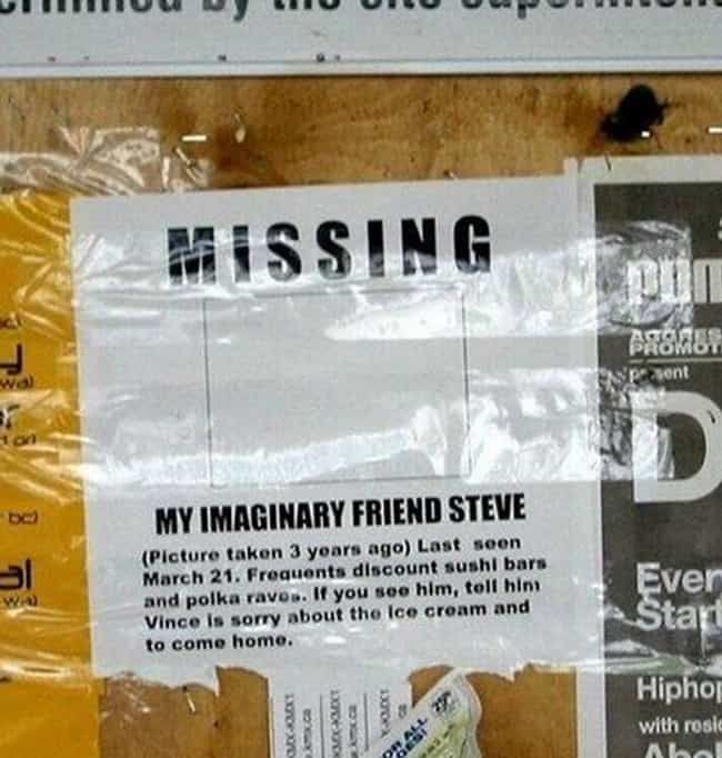 Imagine Entertainment is listed (or ranked) 7 on the list 22 Hilarious Fliers Found on College Campuses