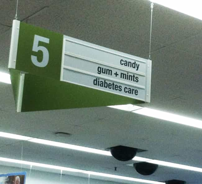 Aisle Irony is listed (or ranked) 4 on the list The Funniest Grocery Store Aisles Ever