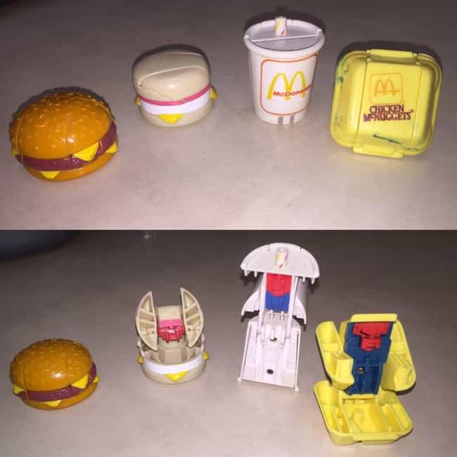 Changeables is listed (or ranked) 1 on the list The Best McDonald's Happy Meal Toys of the '80s