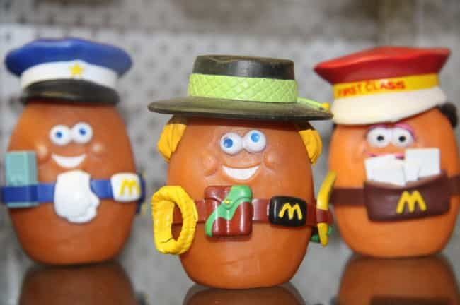 The McNugget Buddies is listed (or ranked) 3 on the list The Best McDonald's Happy Meal Toys of the '80s