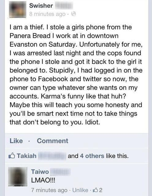 Random People Who Will Never Forget to Log Out of Facebook Again