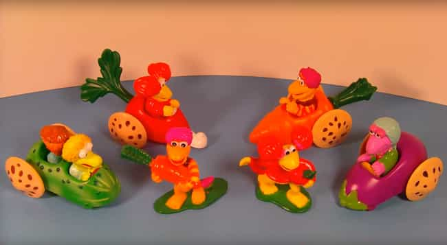 Fraggle Rock is listed (or ranked) 3 on the list The Best McDonald's Happy Meal Toys of the '80s
