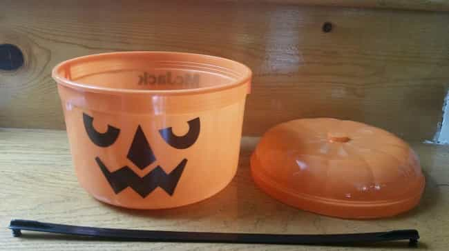 Halloween Candy Buckets ... is listed (or ranked) 4 on the list The Best McDonald's Happy Meal Toys of the '80s