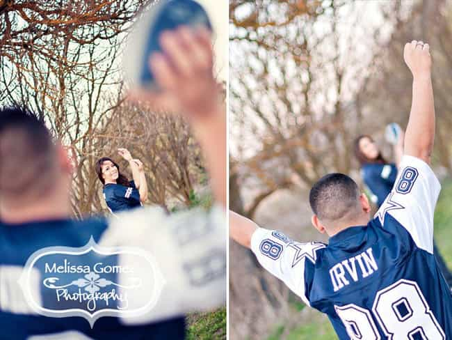 Quite a Catch is listed (or ranked) 3 on the list The Greatest NFL Fan Glamour Shots