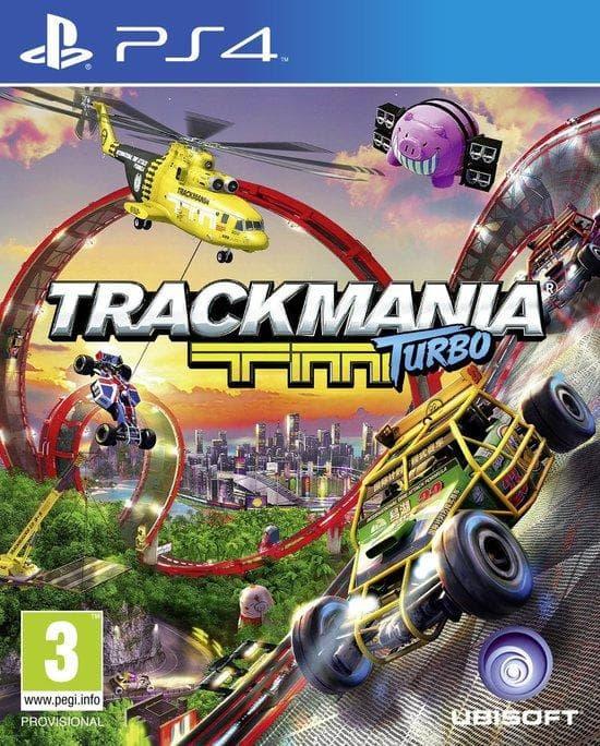 Trackmania Turbo on Random Best PS4 Racing Games