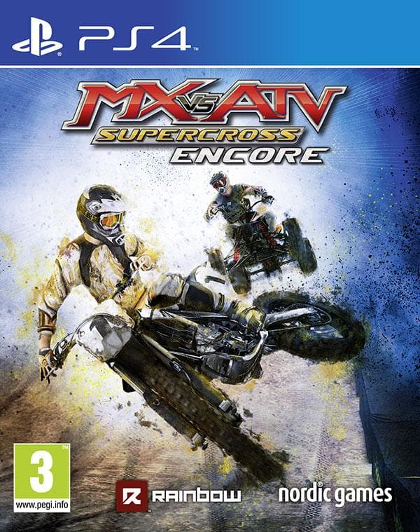 MX vs. ATV Supercross Encore on Random Best PS4 Racing Games