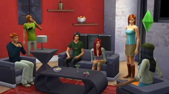 Family Affair is listed (or ranked) 2 on the list 23 Insane Situations Only Sims Addicts Would Think Are Normal