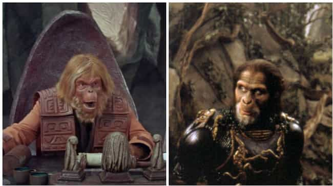 The Apes (Planet of the Apes) is listed (or ranked) 4 on the list Famous Villains Whose Looks Have Totally Changed