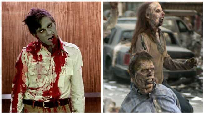 The Undead (Dawn of the Dead) is listed (or ranked) 3 on the list Famous Villains Whose Looks Have Totally Changed