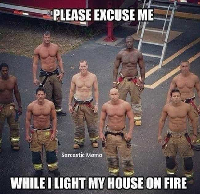 We Didn't Start the Fire is listed (or ranked) 2 on the list 22 Fireman Photos That Are So Hot Right Now