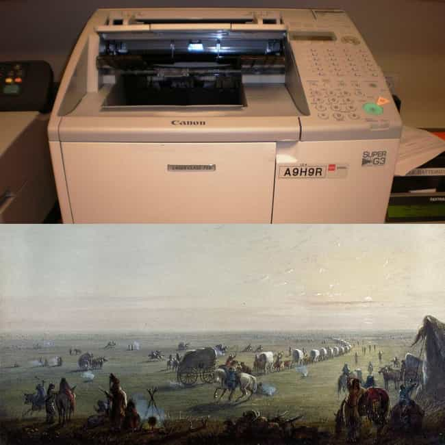 The Fax Machine Was Invented T... is listed (or ranked) 1 on the list Historical Events You Won't Believe Happened at the Same Time