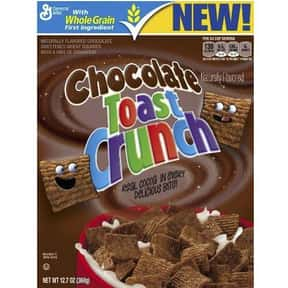 Chocolate Toast Crunch is listed (or ranked) 13 on the list The Best Chocolate Cereal