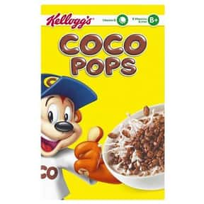 Coco Pops is listed (or ranked) 21 on the list The Best Chocolate Cereal