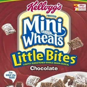Chocolate Frosted Mini-Wheats is listed (or ranked) 22 on the list The Best Chocolate Cereal