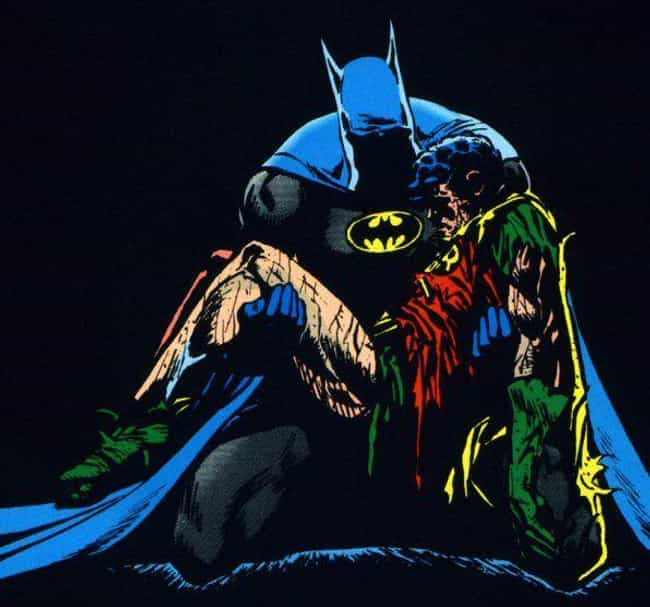 When He Beat Jason Todd ... is listed (or ranked) 1 on the list The Most Insanely Gory Moments in the Joker's History