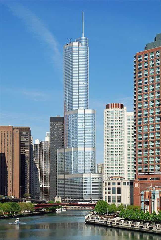 Trump International Hotel and ... is listed (or ranked) 2 on the list The 25 Tallest Buildings in Chicago
