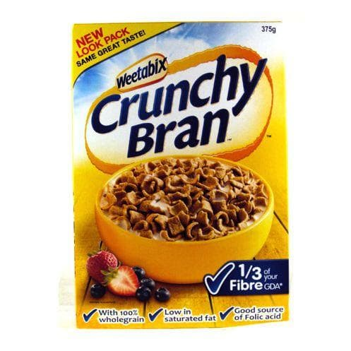 Crunchy Bran on Random Best Bran Cereal