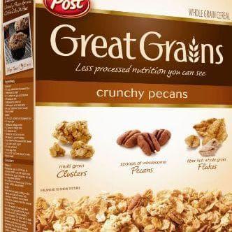 Great Grains Crunchy Pecan on Random Best Bran Cereal