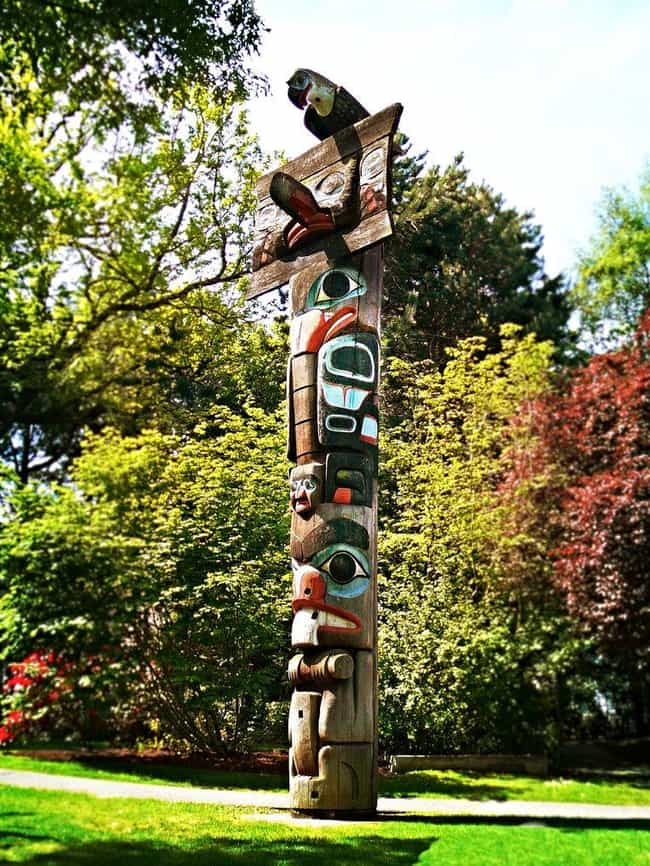 There Are Six Different ... is listed (or ranked) 4 on the list Everything You Ever Wanted to Know About Totem Poles
