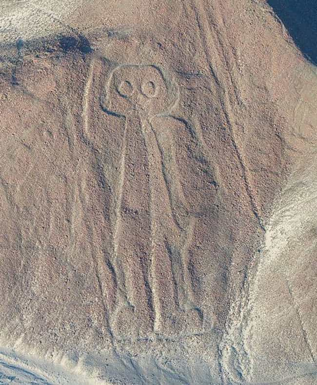 The Nazca Lines is listed (or ranked) 2 on the list 17 Eerie and Incredible Unsolved Ancient Mysteries from Around the World