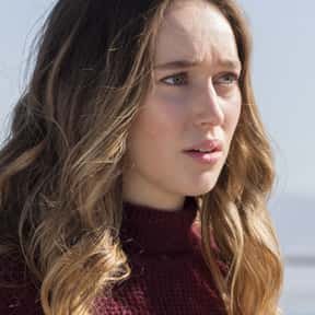 Alicia Clark is listed (or ranked) 15 on the list The Best Female Characters on TV Right Now