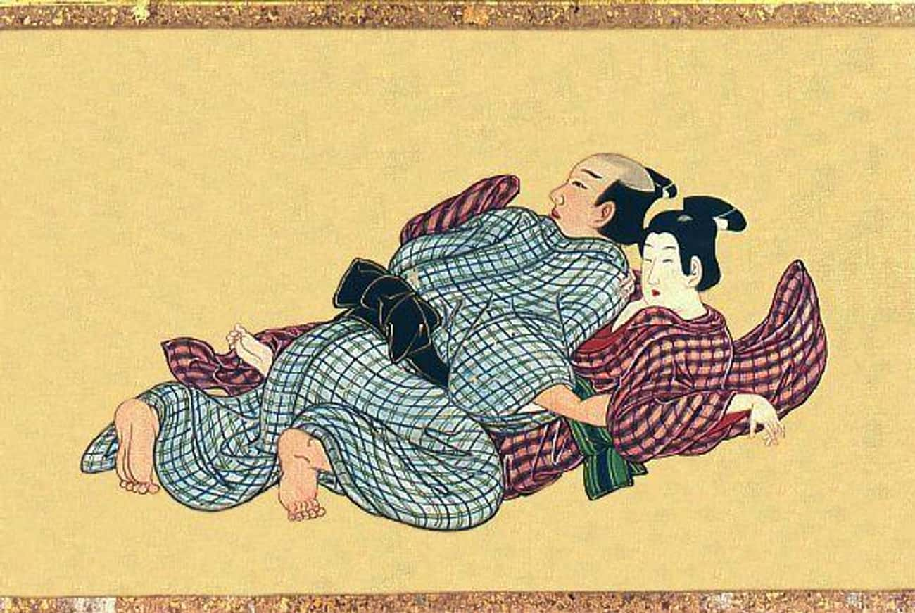 Homosexuality Was Fairly Commo is listed (or ranked) 2 on the list What Sex Was Like in Feudal Japan