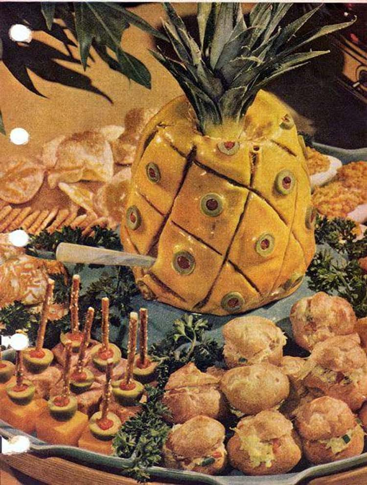 Liver Sausage Pineapple
