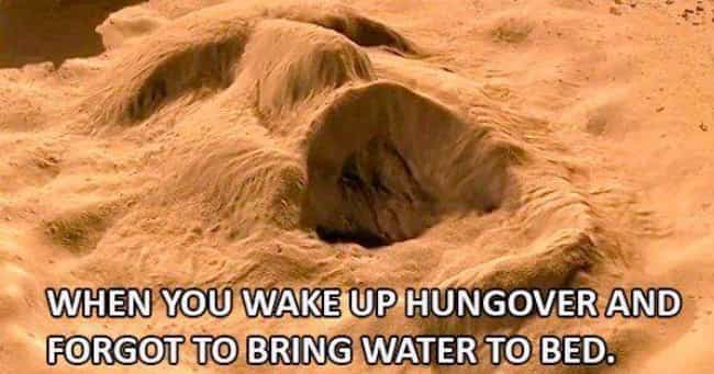 Sand People is listed (or ranked) 1 on the list Photos That'll Help You Survive Your Latest Hangover