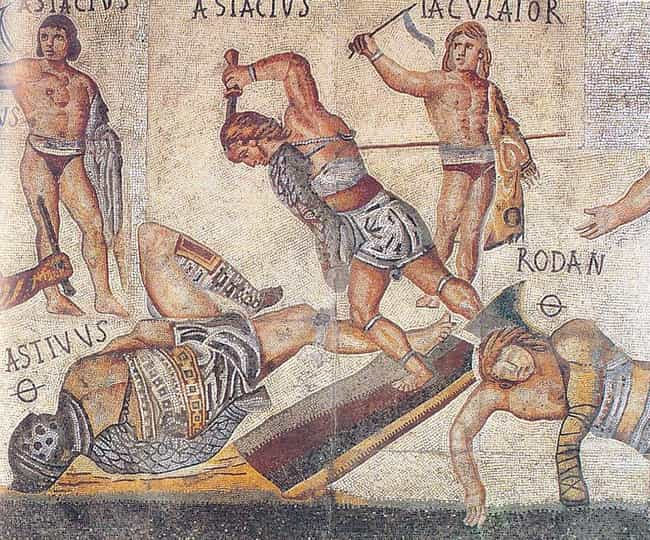 Gladiatorial Combat Was Brutal... is listed (or ranked) 3 on the list 13 Brutally Violent Spectator Events That Drew Huge Crowds Throughout History