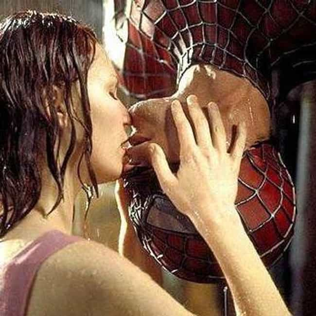Tobey Maguire, 'Spider-M... is listed (or ranked) 1 on the list Actors Who Didn't Want To Kiss Their Onscreen Love Interest