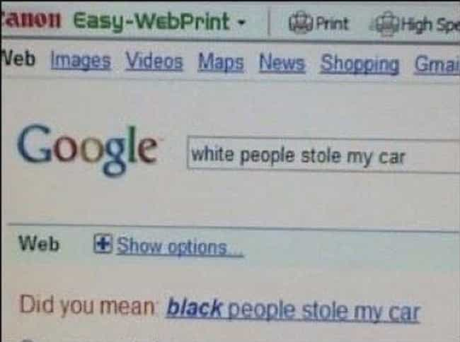 WTF Google? is listed (or ranked) 2 on the list 28 Cringeworthy Examples of Accidental Racism